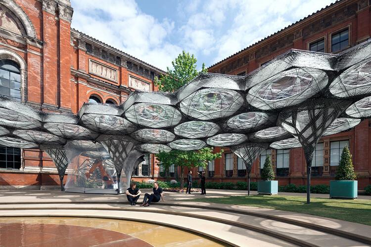 Elytra Filament Pavilion. Image © NAARO via the V&A