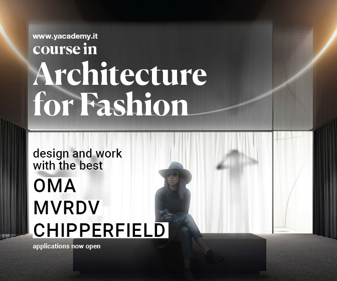 MVRDV, Jean Nouvel Design, Zaha Hadid Architects:  Discover the Internships and Lectures of 'Architecture for Fashion' 2021 Edition, Courtesy of YACademy