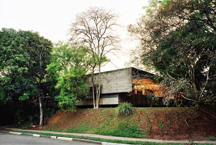 A casa da Botanta / Paulo Mendes da Rocha + João de Gennaro. Imagem © Nelson Kuhn