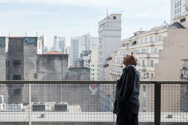 Paulo Mendes da Rocha Passes Away at 92, Paulo Mendes da Rocha at the Sesc 24 de Maio in São Paulo, Brazil. Image © André Scarpa