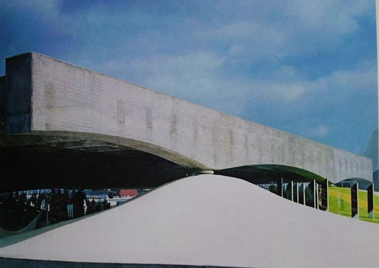 Pavilhão Brasil em Osaka / Paulo Mendes da Rocha e equipe. Imagem cortesia de Ruth Verdi Zane
