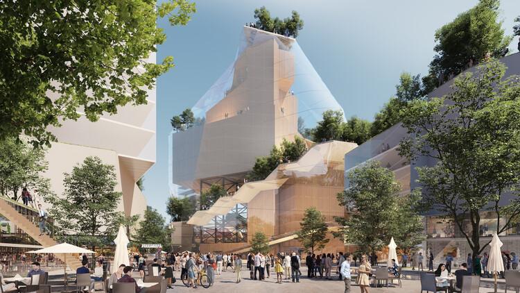MVRDV to Transform Eindhoven Shopping Centre into a Sustainable Cultural Quarter, Courtesy of MVRDV