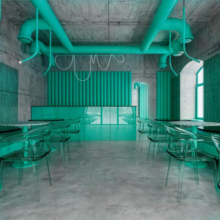 Café em Harmonia com a Natureza / Reutov Design, © Reutov Dmitry, Gerner Ekaterina