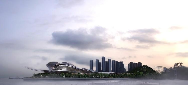 Shenzhen Opera House. Image Courtesy of International Architectural Design Competition for Shenzhen Opera House