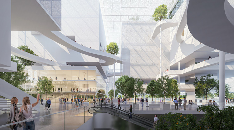 Shenzhen Reform and Opening-up Exhibition Hall. Image Courtesy of Sou Fujimoto Architects & Donghua Chen Studio