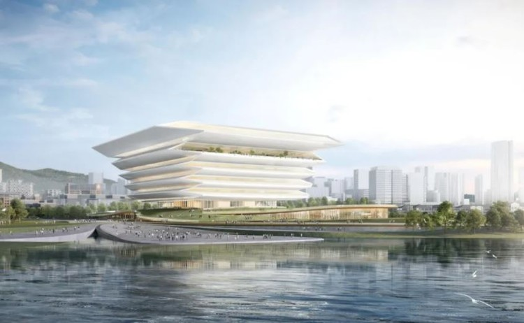 Guoshen Museum. Image Courtesy of Architecture Design and Research Institute of South China University of Technology