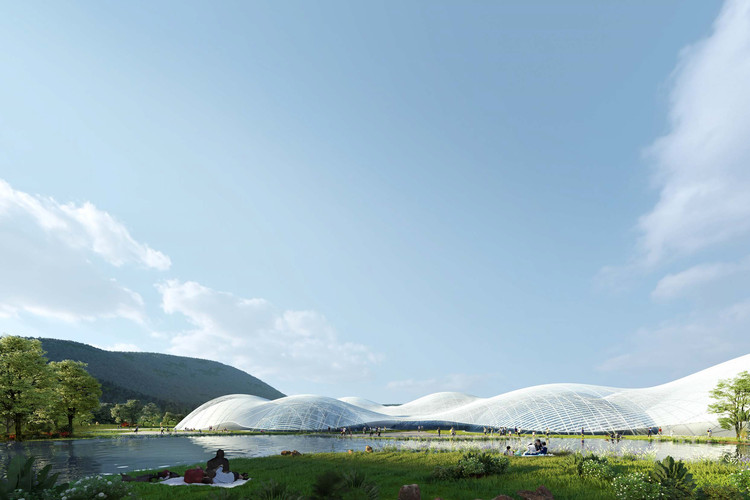 Shenzhen Maritime Museum. Image Courtesy of International Architecture Design Competition for the Shenzhen Maritime Museum