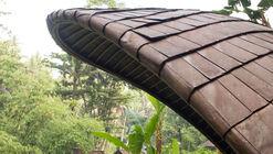 Sistemas de cobertura para edifícios de bambu