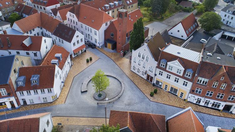 Centro de la ciudad de Aabenraa / ADEPT + Topotek 1, © Hanns Joosten