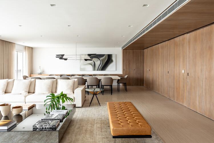 Apartamento Galeria / MAB3 Arquitetura, © Fran Parente
