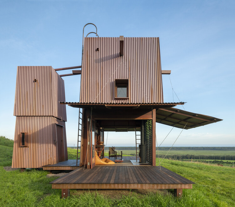 Camping permanente n°2 / Casey Brown Architecture, © Andrew Loiterton