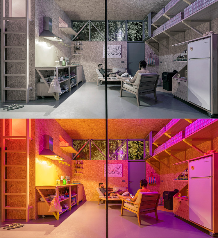 (Synanthro)Love Shack, (Tele)working Abode / Husos Architects. Image © Impresiones Cotidianas