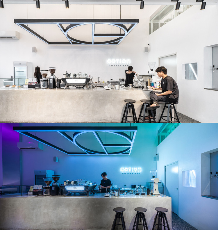 Option Coffee Bar / TOUCH Architect. Image © Metipat Prommomate