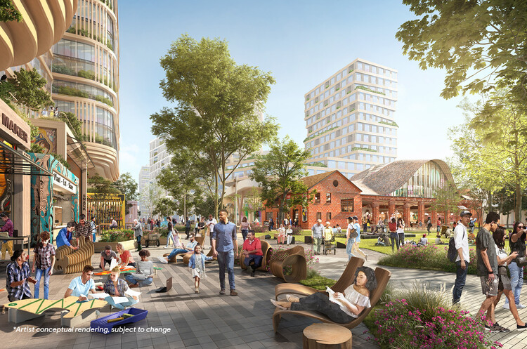 Google Gets Approval for Downtown West Campus Designed by SITELAB Urban Studio, Courtesy of SITELAB urban studio