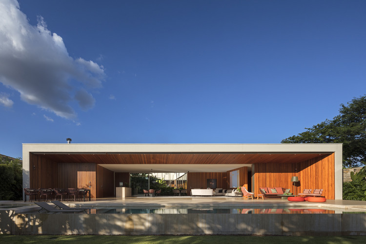 Casa SJ / Aguirre Arquitetura, © Leonardo Finotti