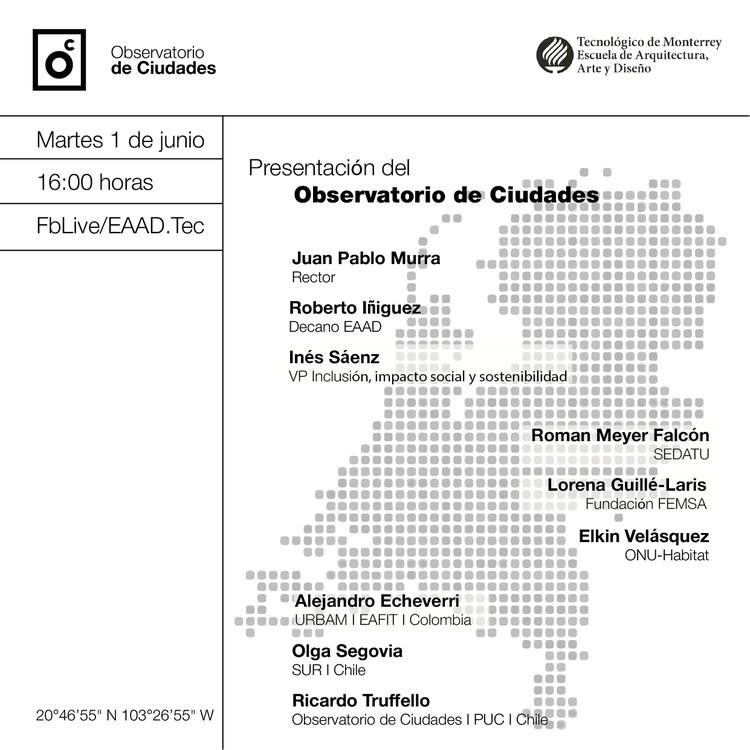 Presentación del Observatorio de Ciudades del Tec de Monterrey