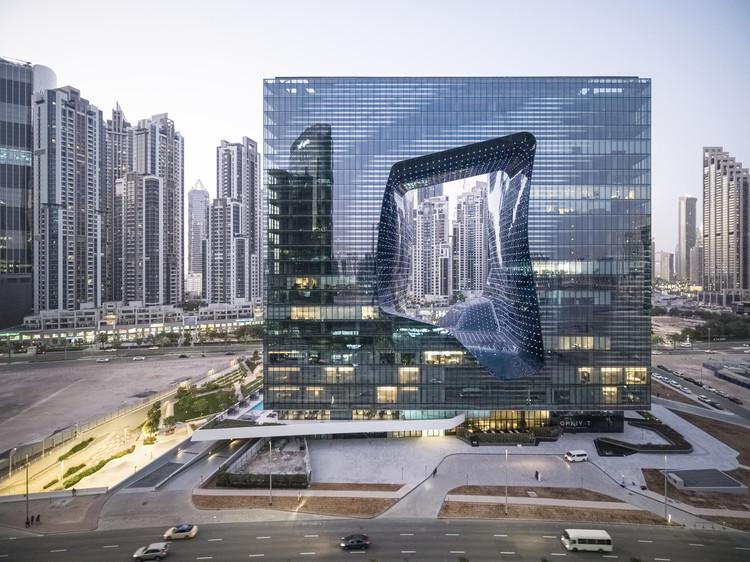 Zaha Hadid Architects' Opus. Image © Laurian Ghinitoiu