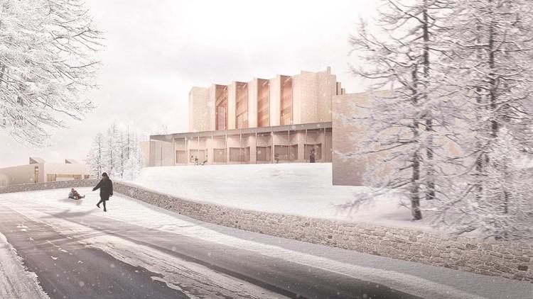 Henning Larsen projeta primeira igreja em 500 anos em cidade da Dinamarca, Cortesia de Henning Larsen