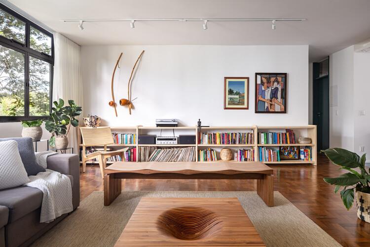 Apartamento 112 Sul / CoDA arquitetos, © Joana França