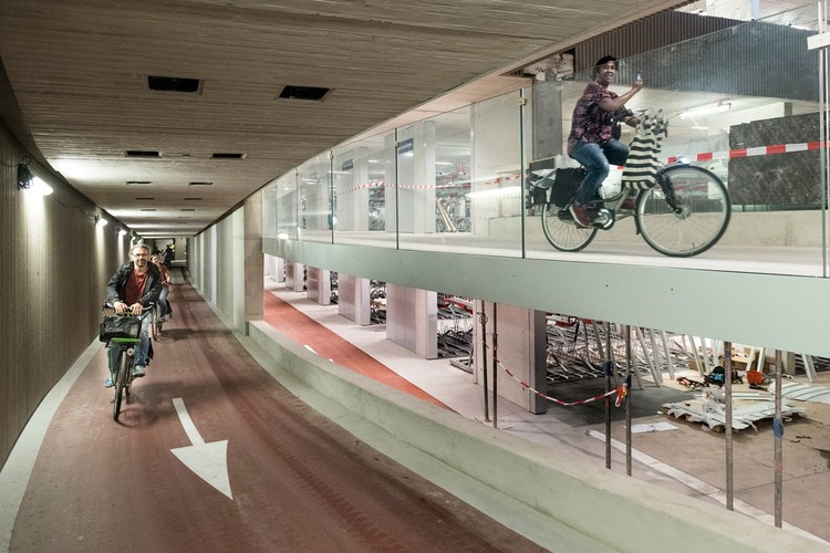 City of Utrecht Opens Largest Bicycle Parking Lot In The World. Image © CU2030.nl