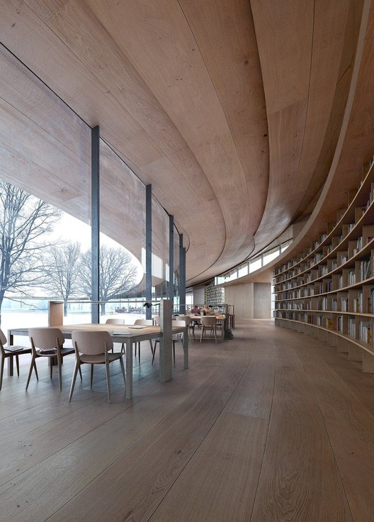 Ibsen Library - Norway. Image Courtesy of Kengo Kuma and Associates