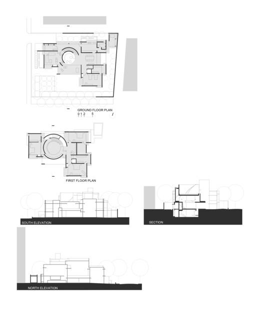 Plans - Section - Elevations
