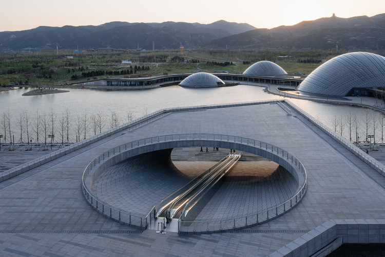 Taiyuan Botanical Garden / Delugan Meissl Associated Architects, © CreatAR
