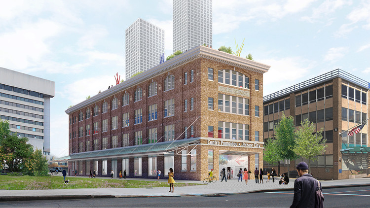 OMA Will Build Out the First American Pompidou Center in Jersey City, Courtesy of OMA