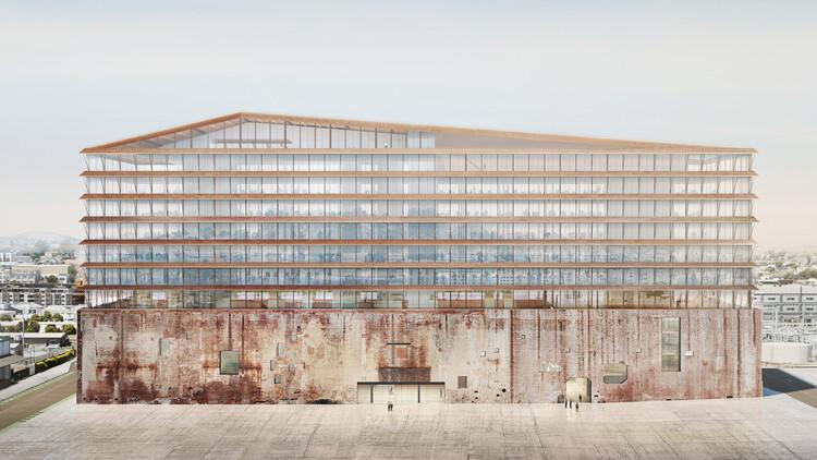Herzog & de Meuron convertirá la antigua central eléctrica de San Francisco en un proyecto de usos mixtos, © Herzog & de Meuron