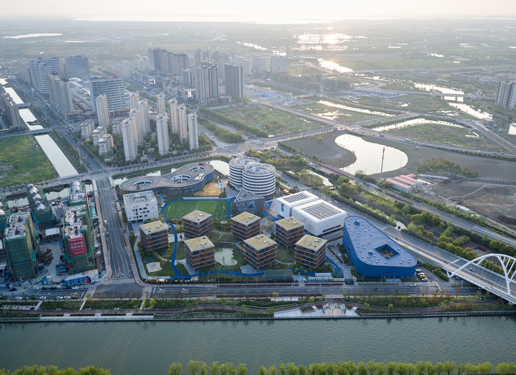 aerial view. Image © Hao Chen