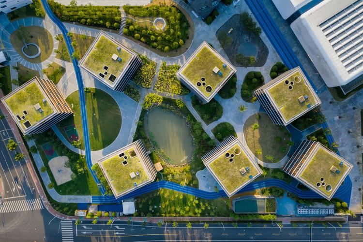 campus aerial view. Image © Qingshan Wu
