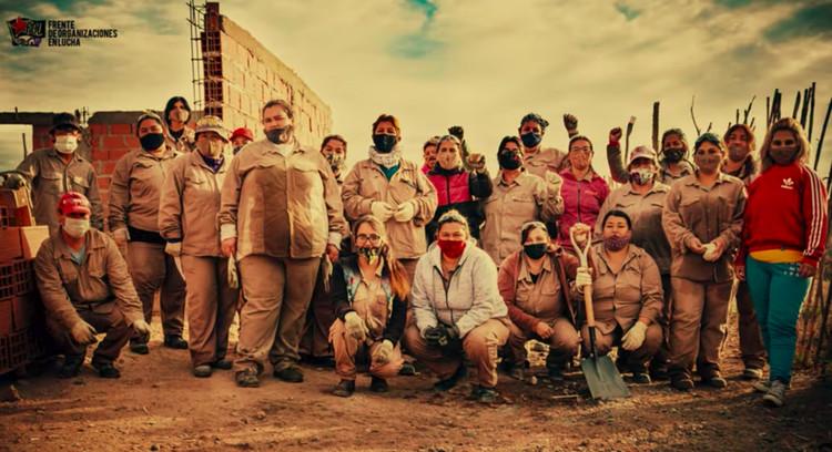 Albañilas: el corto documental que retrata la labor de las mujeres en la construcción, © Frente de Organizaciones en Lucha