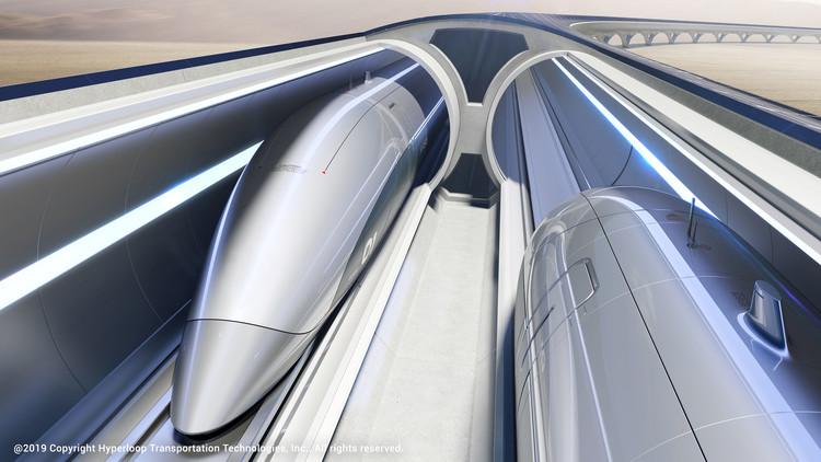 Zaha Hadid Architects to Design New Italian Hyperloop, © HyperloopTT