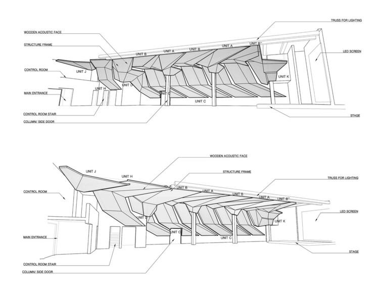 Acoustic Ceiling Detail