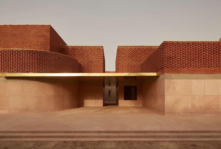 Musée Yves Saint Laurent Marrakech / Studio KO. Image © Dan Glasser