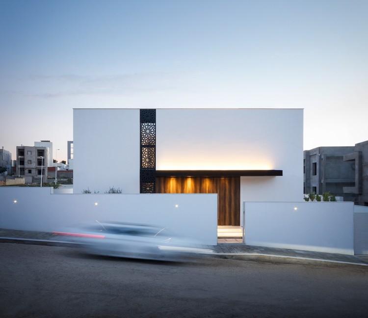 Villa Z / ARK-architecture. Image © Bilel Khemakhem