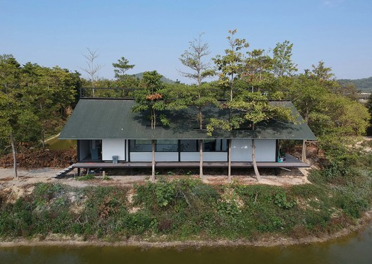 south aerial view. Image © Lei Shen
