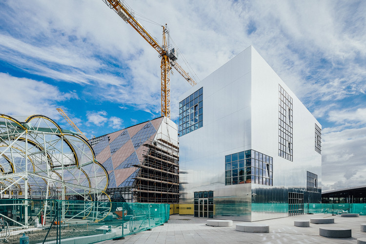 Barozzi Veiga Completes the First Building of London's Design District, © Taran Wilkhu