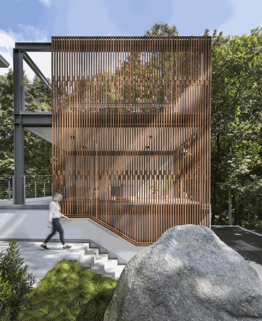 Lantern Studio / Flavin Architects. Foto: © Nat Rea