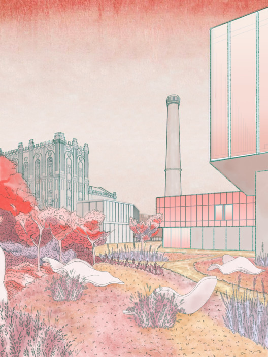 Reconstruction Proposal for an Abandoned Brewery Wins the 2021 CANactions Youth Competition, Courtesy of Dmytro Yahodin
