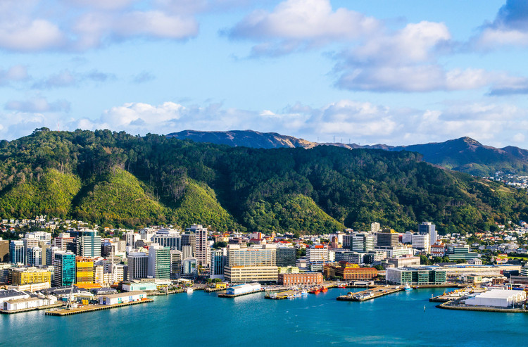 Wellington, New Zealand.  Image by / Canguyen via Shutterstock