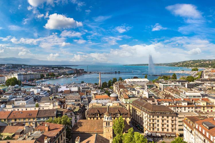 Geneva, Switzerland.  Image via Shutterstock/and SF