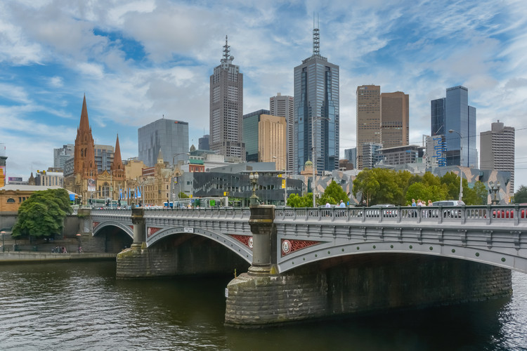 Melbourne, Australia.  By Imagine/365 Focus Photography via Shutterstock