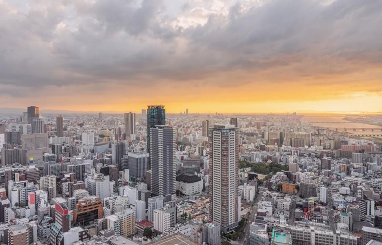 Osaka, Japan.  Image via Shutterstock