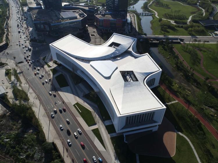 aerial view. Image © Yuan Ma