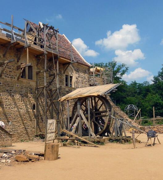 Un castillo en Francia del siglo XXI fue construido con técnicas y sistemas medievales, © mksfca vía Visualhunt