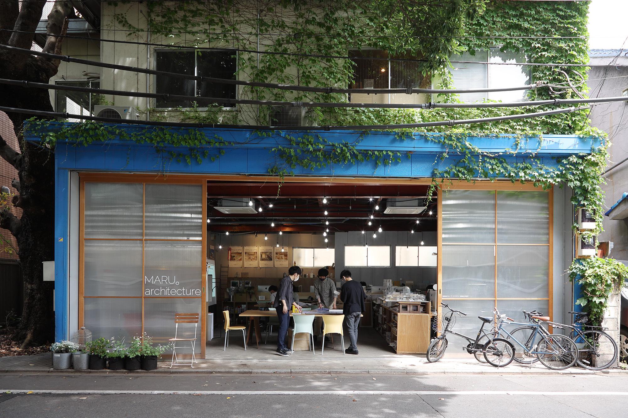 MARU。architecture Uenosakuragi Office / MARU。architecture