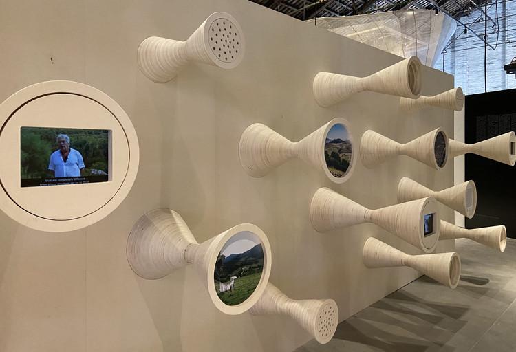 Arquitectura de ondas gravitacionales: El Equipo Mazzanti en la Bienal de Venecia 2021, Arquitectura de ondas gravitacionales. Image Cortesía de El Equipo Mazzanti