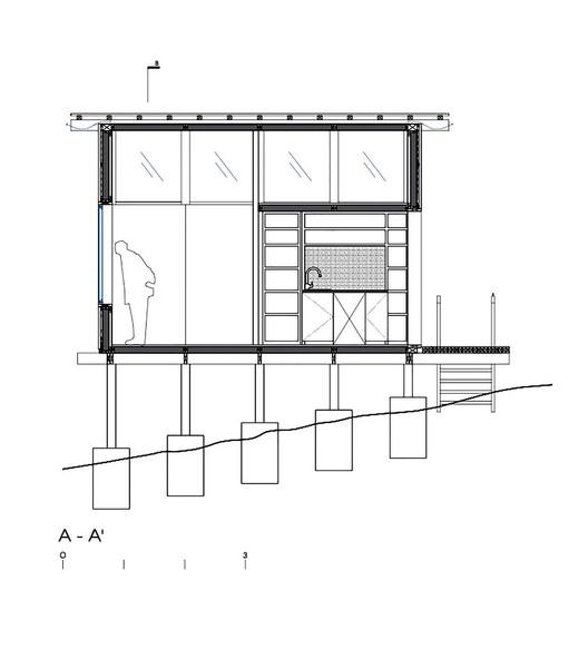 Charred Cabin / DRAA. Image
