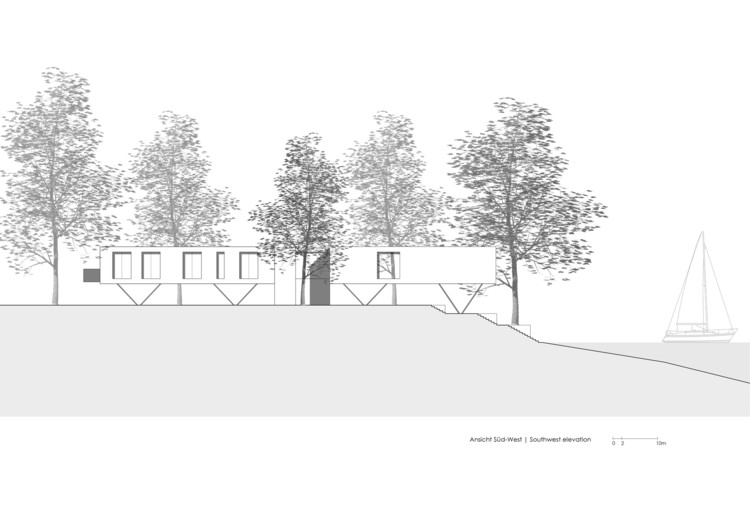 House by the Lake / Carlos Zwick Architekten BDA. Image